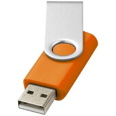 Rotate Basic USB Stick-orange-4GB