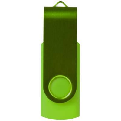 Rotate Metallic USB Stick-grün(limettgrün)-4GB