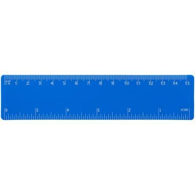 Rothko 15 cm PP Lineal-blau