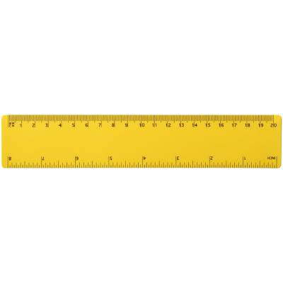 Rothko 20 cm PP-Lineal-gelb Werbeartikel + Logo bedrucken ...