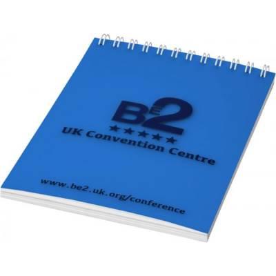 Rothko A7 Notizbuch-blau-weiß-50 Blatt