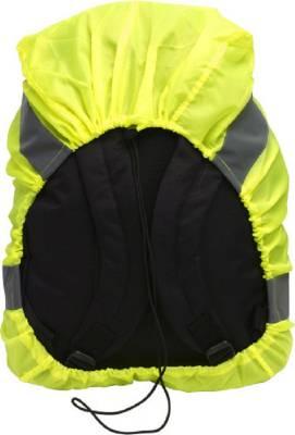 Rucksack-Kombi Warnweste und Regenschutz