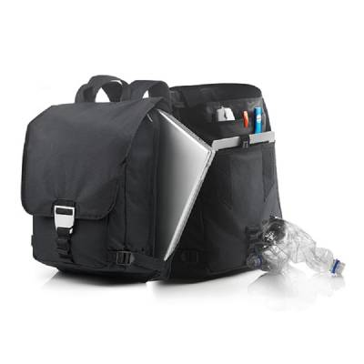Rucksack Regensburg mit Laptopfach - schwarz