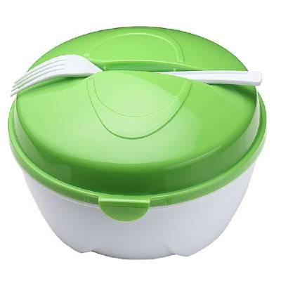 Salat Schüssel To Go-grün