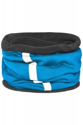 Schlauchtuch Safety mit reflektierendem Streifen-blau-one si