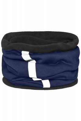 Schlauchtuch Safety mit reflektierendem Streifen-blau(navybl