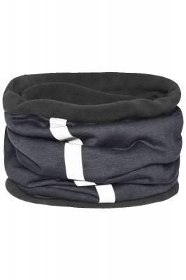 Schlauchtuch Safety mit reflektierendem Streifen-grau-one si