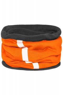 Schlauchtuch Safety mit reflektierendem Streifen-orange-one