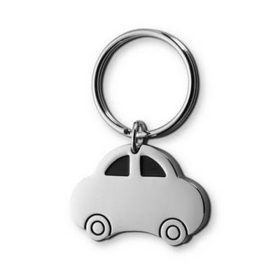 Schlüsselanhänger Auto-Eigenlager-silber