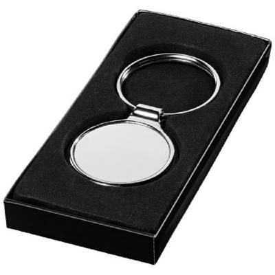 Schlüsselanhänger Rund-chrome