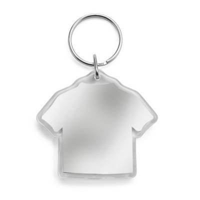 Schlüsselanhänger T-Shirt-transparent