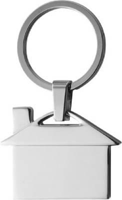 Schlüsselanhänger Tuchhallen-silber