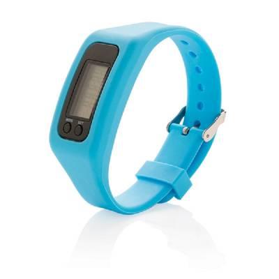 Schrittzähler Armband - blau
