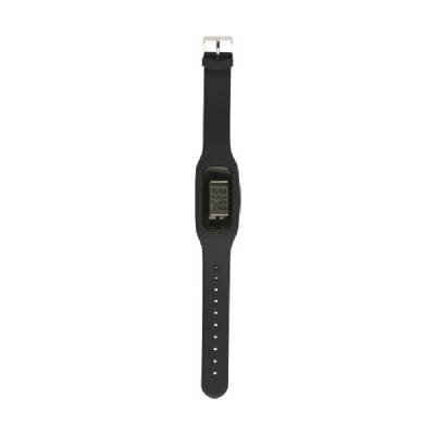 Schrittzähler Step mit Silikon Armband