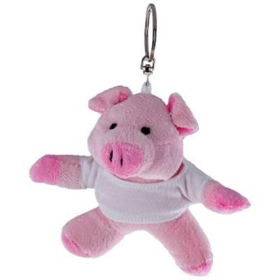 Schweinchen Otto mit T-Shirt-rosa