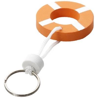 Schwimmender Schlüsselanhänger - orange