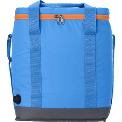 Selbstaufblasende Kühltasche Chicago aus Polyester-blau(hellblau)
