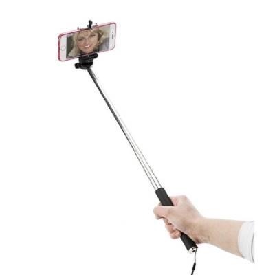 Selfie-Stick Damp-schwarz