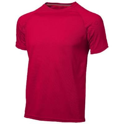 Slazenger Serve Herren T-Shirt - rot - XXXL