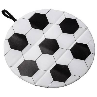 Sitzkissen Fußball - weiß