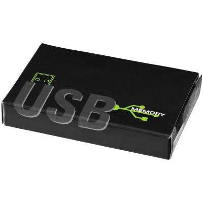 Slim Credit Card USB Stick-weiß-4GB