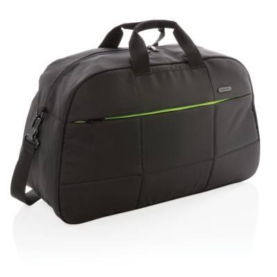 Soho 15 Zoll Business Laptop-Wochenendtasche aus RPET-schwarz