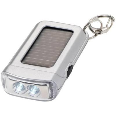 Solar Taschenlampe-silber