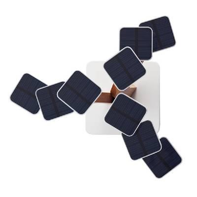 Solarladegerät Sonnenblume - braun