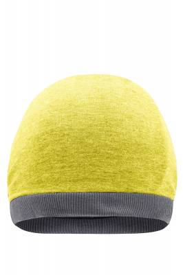Sommer Beanie Lazy-gelb-one size-unisex