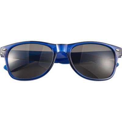 Sonnenbrille Shade aus Acryl-blau