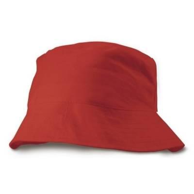 sonnenhut rot als werbeartikel mit logo bedrucken v7008 05. Black Bedroom Furniture Sets. Home Design Ideas