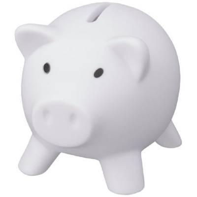 Sparschwein Piggy Bank-weiß