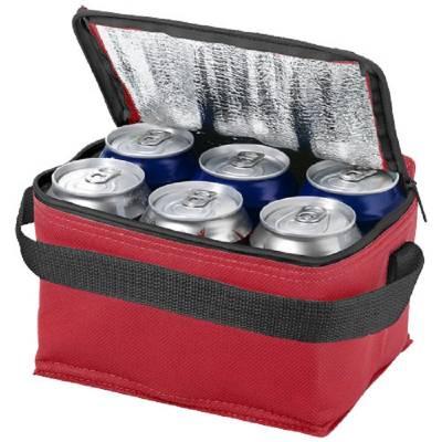 Spectrum Kühltasche für 6 Dosen-rot