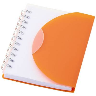 Spiral-Notizblock The Post - orange