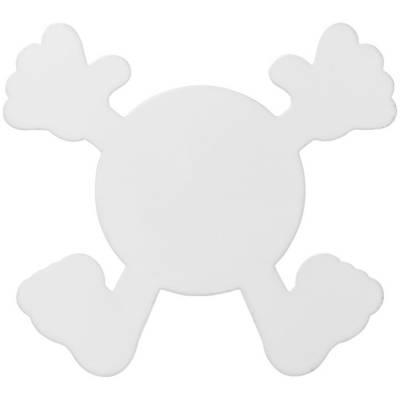 Splatman Kunststoffuntersetzer-weiß