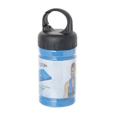 Sporthandtuch mit Kühlfunktion REFLECTS-SOUSSE-blau(hellblau)