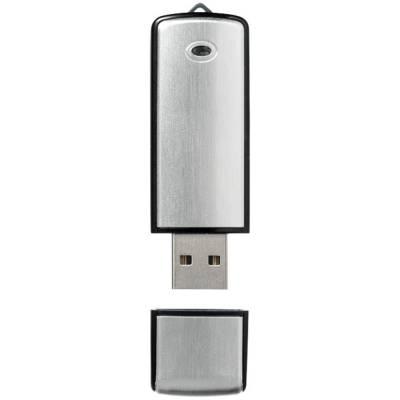 Square USB Stick-schwarz-2GB