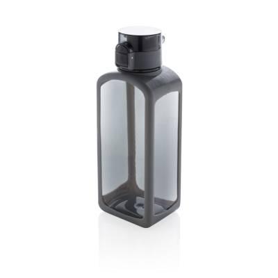 Squared verschließbare, auslaufsichere Tritanflasche Sayda-schwarz