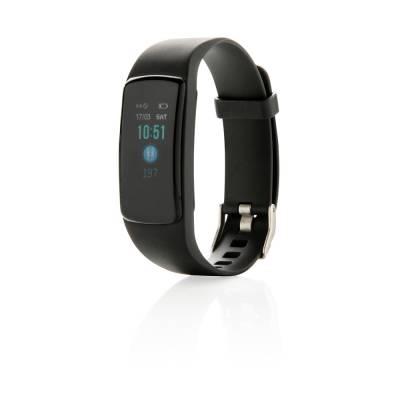 Stay Fit Activity-Tracker mit Herzfrequenzmessung-schwarz