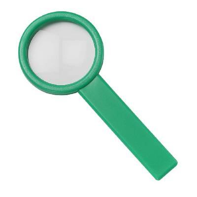 Stiellupe Handle 3 x-grün(standardgrün)