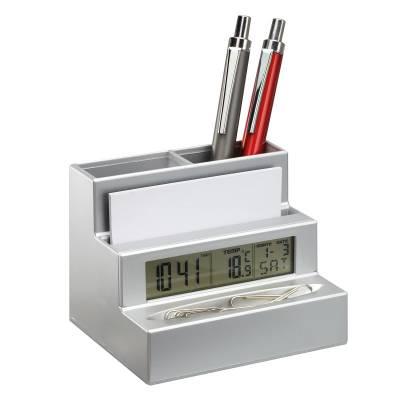Stifthalter mit Uhr REFLECTS-HARLEM