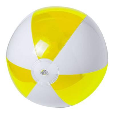 Strandball Zeusty-gelb