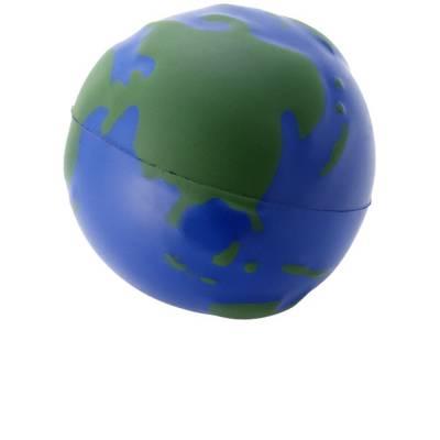 Stressball Globus - blau