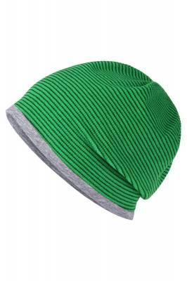 Stretchfleece Beanie Buzz-grün-one size-unisex
