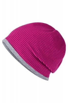 Stretchfleece Beanie Buzz-pink-one size-unisex