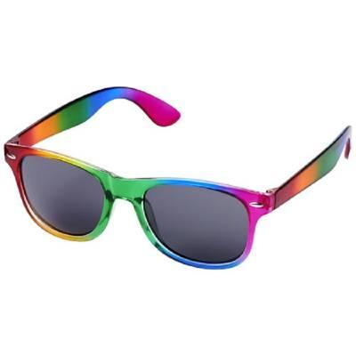 Sun Ray Regenbogen-Sonnenbrille-mehrfarbig