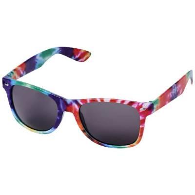 Sun Ray Sonnenbrille mit Batikmuster-mehrfarbig