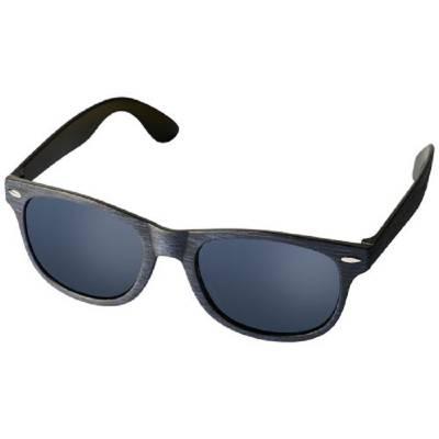 Sun Ray Sonnenbrille mit melierter Veredelung-blau(navyblau)