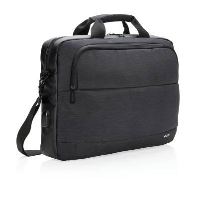 Swiss Peak 15 Zoll Laptop-Tasche-schwarz