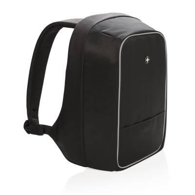 Swiss Peak Anti-Diebstahl 15 Zoll  Laptop-Rucksack-schwarz